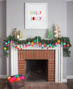 DIY Paper Ornament Advent Calendar Decoration Idea