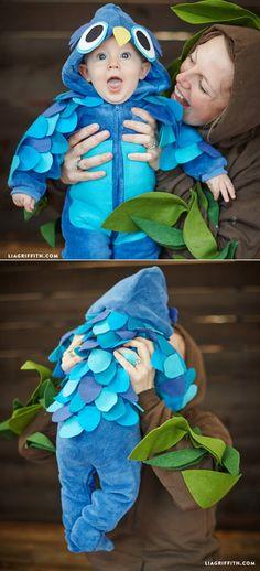 #nosewcostume #owlcostume #kidscostume #Halloweencostume #babycostume www.LiaGriffith.com: