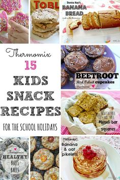 15 thermomix kids snack recipes
