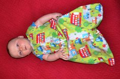 Baby Sleep Sack/ Wearable Blanket PDF Pattern DIY Tutorial
