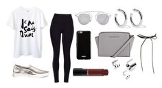 """""""Casual"""" by valeriatrujillog on Polyvore featuring Michael Kors, Givenchy, Christian Dior, Sophie Buhai and Topshop"""