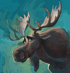 Moose by Drkav on DeviantArt