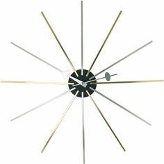 Star Clock  http://www.franceandson.com/mid-century-modern-star-clock.html