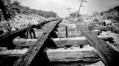 Remnants of the Mount Lowe Railway Great Incline, 12/1947