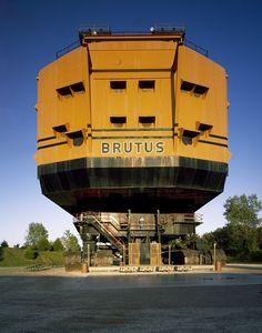 'Big Brutus' strip-mining shovel in southeast Kansas