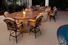 Table Top Fire Pit & Bar...so cool