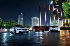 Taking first deliveries of the world's most progressive sports car, the #BMWi8, highlights the bright future of hybrid e-mobility in Indonesia.  #BMWirepost via @rickyboen. #BMWi __________  BMW i8 plug-in hybrid BMW eDrive: energy consumption (combined): 11,9 kWh/100 km. Fuel consumption (combined): 2,1 l/100 km, CO2 emissions (combined): 49 g/km. Fuel consumption is determined in accordance with the ECE driving cycle (93/116/EC), made up of approximately one-third urban traffic and…