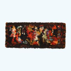 Vintage Ramon Isern Rya Tapestry for Sellgren of Norway