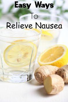 Relieve Nausea the easy way