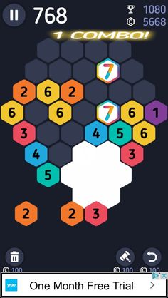 Make7! Hexa Puzzle Game Review - #android #iOS #freegames  Counting to Seven was Never More Challenging… or Fun! Video Game Reviews, Make Your Mark, New Iphone, Free Games, Counting, Ios, Puzzle, Android, Puzzles