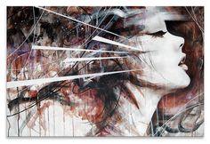 Dit schilderij voor boven mijn bank aan de muur....-Every Step Of The Way-  by Danny O'Connor