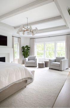 Home Interior Salas .Home Interior Salas Master Bedroom Design, Dream Bedroom, Home Bedroom, Bedroom Ideas, Master Bedrooms, Bedroom Area Rugs, Master Bedroom Chairs, Light Master Bedroom, Bedroom With Sofa