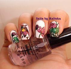 Nails by Malinka: Born Pretty plate BP-80