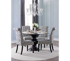 54   glass table w urn base   casual dining   dining rooms   art 60   dining table  u0026 6 chairs   dinettes   dining rooms   art van      rh   pinterest com