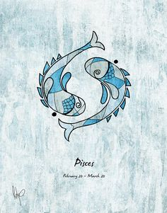 Pisces Artwork Drawing by Roly D Orihuela - Pisces Artwork Fine Art Prints and Posters for Sale