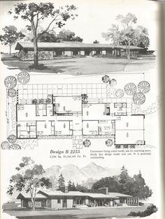 Mid century sprawling ranch
