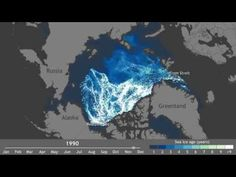 Watch 30 Years of Arctic Ice Melt in One Minute