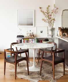 Finnish-American architect and designer Eero Saarinen contributed much to our design lexicon, though he is perhaps best remembered for one item in particular: the Pedestal, or Tulip, table. An undeniable classic, this simple, sweeping table looks as good today as it did in 1956.