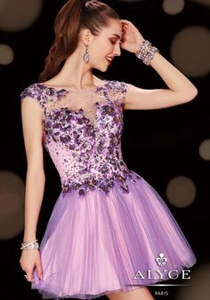 2014 Alyce Sweet 16 and Party Collection Open Back Dress 3607