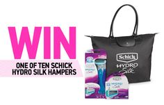 Get silky smooth skin with Schick.