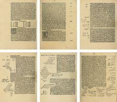 Qui comenza la nobel opera de arithmethica Piero Borghi Printer: Erhard Ratdolt (Venice) Date: 2 August 1484