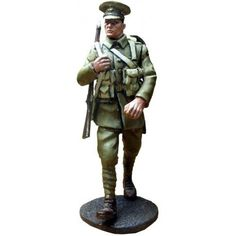 GW 024 Second Scots Guards private 3 Metal Toys, Toy Soldiers, British Army, Wwi, First World, World War, Military, Armchair, Templates