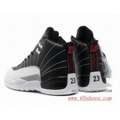 separation shoes e5614 9255f Latest Black White Air Jordans 12 Retro Mens Basketball Shoes
