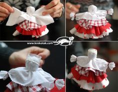 Кукла от плат - Баба Марта