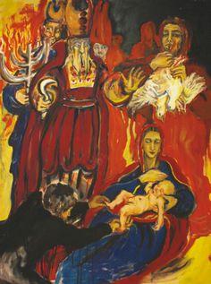 Presentazione di Gesù al Tempio - olio su tela - 200x150 cm - € 2.000,00