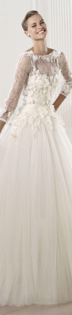 Pronovias 2016 Wedding Dress-Alailable to order at Bridal Manor   www.bridalmonor.co.za