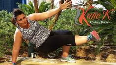 Katie K Activewear Sends Plus Size Fitness Coach Tulin Emre Down The Runway at Outdoor Retailer 2015 Plus Size Workout, Healthy Exercise, Sewing Clothes, Plus Size Women, Fitness Fashion, Activewear, Fashion Show, Fat Positive, Celebrities