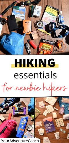 If you're brand new to hiking, it can seem intimidating to know where to start. And do you really need all that hiking gear?? My goal here is to break it down and show you the hiking essentials every beginner needs, extra hiking gear that is nice to have, and a few things you should know before head out on the trail. Best Hiking Gear, Backpacking Tips, Hiking Tips, Camping And Hiking, Winter Hiking, Hiking Checklist, Camping Ideas, Summer Hiking Outfit, Outfit Winter