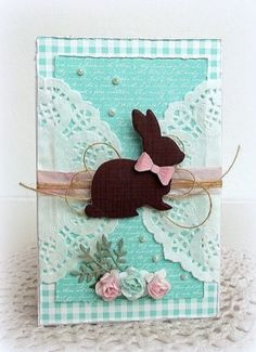 25 Cute Easter Cards Handmade for Dear Ones Handmade Greetings, Greeting Cards Handmade, Handmade Easter Cards, Paper Cards, Diy Cards, Fabric Cards, Card Tags, Creative Cards, Scrapbook Cards