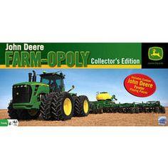 John Deere Farm-Opoly Collectors Edition Game