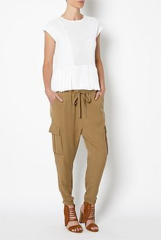 Women's New In Clothing & Fashion | Witchery Online - Soft Cargo Pants