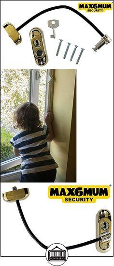 Max6mum Security - De Seguridad Para Ventanas Y Cierre De Puerta Para Bebé Y Seguridad  ✿ Seguridad para tu bebé - (Protege a tus hijos) ✿ ▬► Ver oferta: http://comprar.io/goto/B00LHVS5Z8