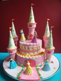 Birthday cake - frosting ice cream cones as decoration
