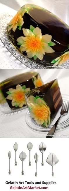 Chocolate Jell-O Cake