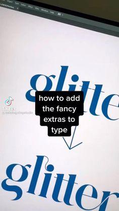 Graphic Design Lessons, Graphic Design Fonts, Web Design, Graphic Design Tutorials, Graphic Design Illustration, Graphic Design Inspiration, Tool Design, Photoshop Design, Typography Tutorial Photoshop