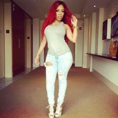K Michelle Red Hair Tumblr 1000+ images about K. Michelle Fashion on Pinterest | K michelle, Toya ...