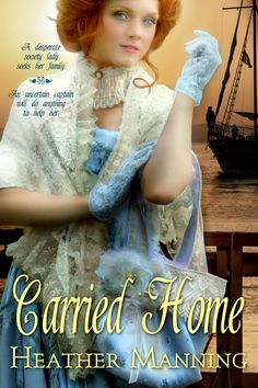 GIVEAWAY! Carried Home by Heather Manning, comment on blog to enter giveaway.