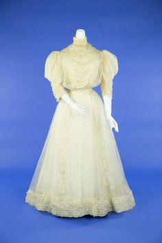 Wedding dress ca. 1905