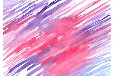 Watercolor blue pink violet texture by Art By Silmairel on @creativemarket