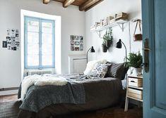 Textilien In Schwarz, Weiß Und Grau Können Dein Schlafzimmer Ruhiger Und  Besonders Gemütlich Machen.
