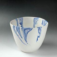 How I make nerikomi pattern-base beakers. Modern Ceramics, Contemporary Ceramics, Pottery Patterns, Japanese Pottery, Ceramic Pottery, Clay, Sculpture, Abstract, Tableware