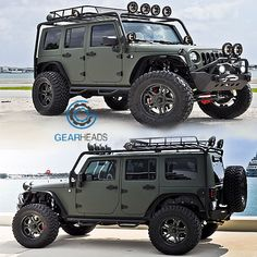 CEC Miami #Jeep #Wrangler Build I could baha the world in this sucker!
