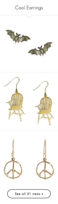 Cool Earrings by urvanity on Polyvore featuring polyvore, women's fashion, jewelry, earrings, accessories, fillers, silver jewellery, earring jewelry, silver earrings, giles jewelry, silver stud earrings, clothing, monserat de lucca, brass jewelry, monserat de lucca jewelry, brass earrings, brincos, schmuck, yellow gold jewelry, gold peace earrings, gold earrings jewelry, 18k earrings, gold jewellery, gold, gold tone drop earrings, drop earrings, gold tone earrings, gold colored earrings…