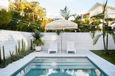 Backyard Pool Designs, Small Backyard Pools, Swimming Pools Backyard, Swimming Pool Designs, Pool Landscaping, Backyard Patio, Outdoor Rooms, Outdoor Living, Outdoor Pool Areas
