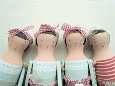 Welsh Wood Doll Kit by SophieTilleyDesigns on Etsy, $24.99