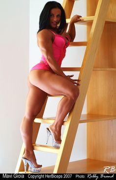 Mavi Gioia - Female Bodybuilder